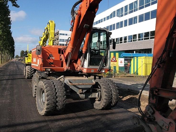 Used Atlas 1504 M excavator