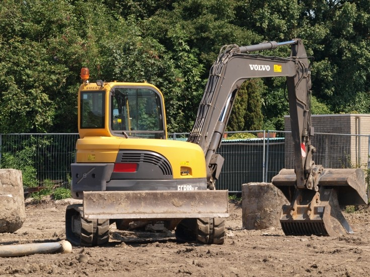 Volvo ECR88plus small excavator