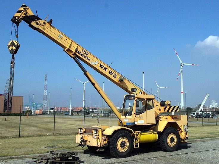 Galion Mobile Crane - Stad Antwerpen