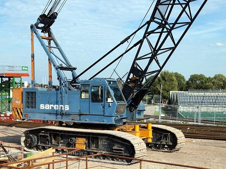Sarens' working on A4