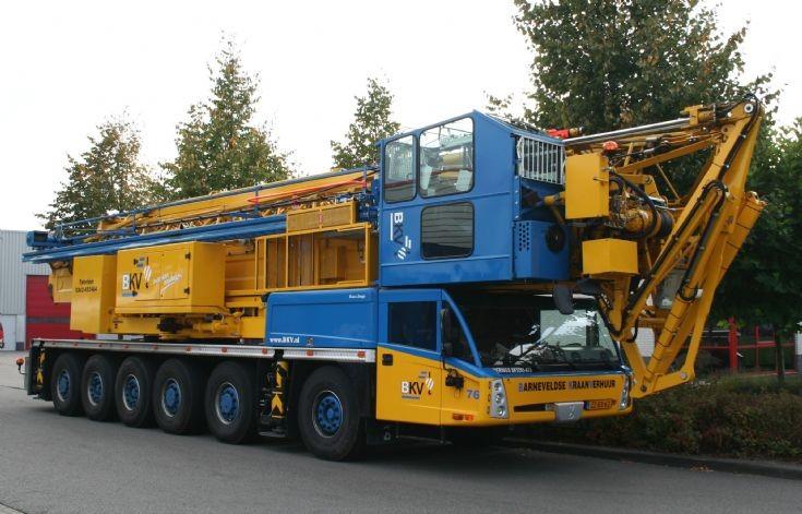 Spierings SK1265-AT6 crane
