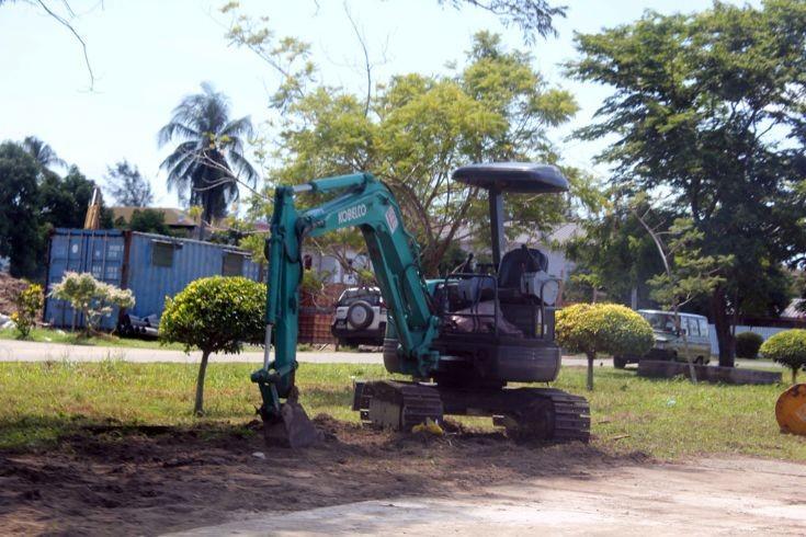 New Kobelco mini excavator
