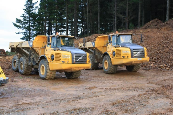pair of Volvo ATDs