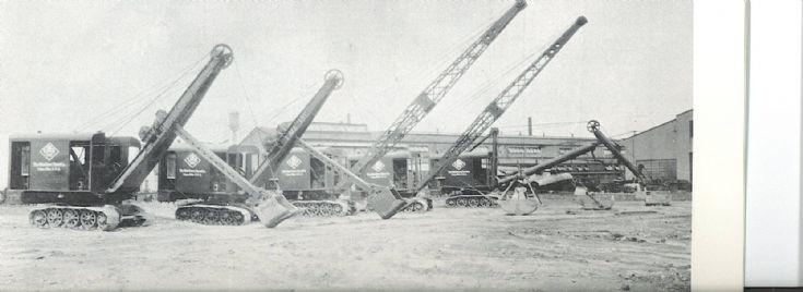 lineup of Ohio Power machines
