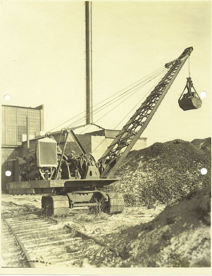 Ohio Power Shovel clamshell