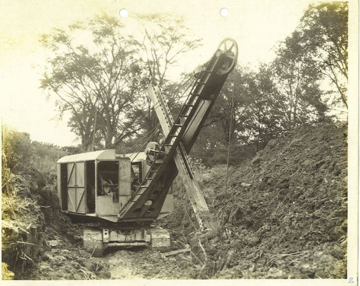 front view of an Ohio Power Shovel