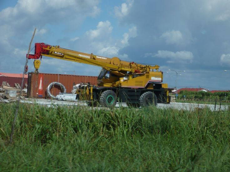 Rough Terrain Crane Malaysia : Construction excavation and demolition machines kato