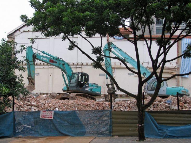 Kobelco Demolition equipment
