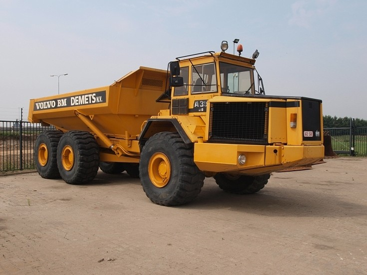 Volvo A35 6X6 articulated dumper