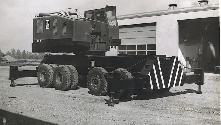 BLH 500T on wagon