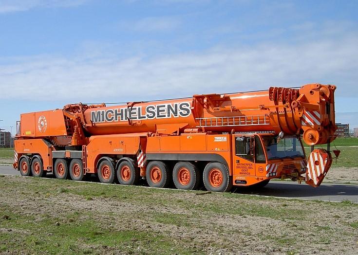Terex-demag telescopic all terrain crane AC 700
