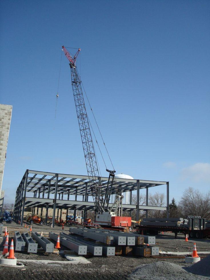 Link Belt 138 crane