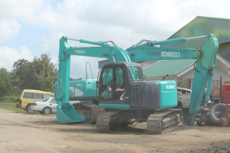 New Kobelco Excavator