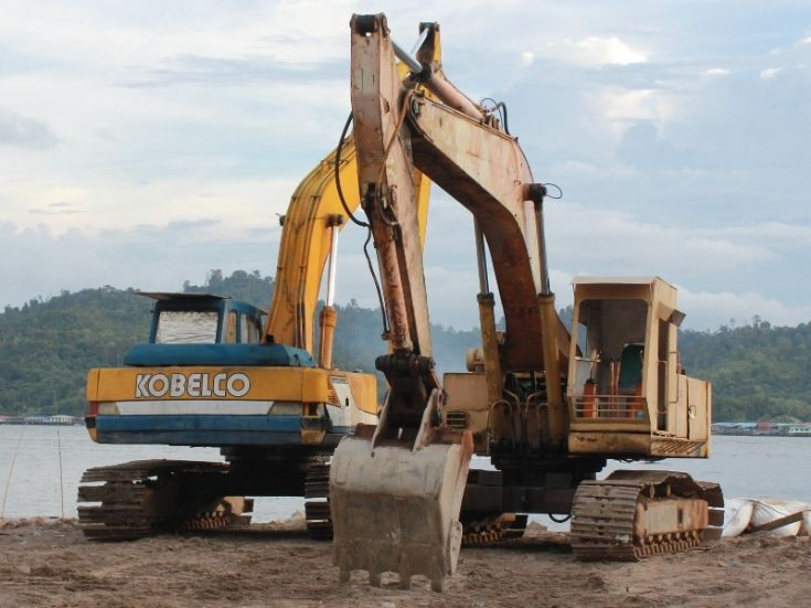 Old and new Kobelco