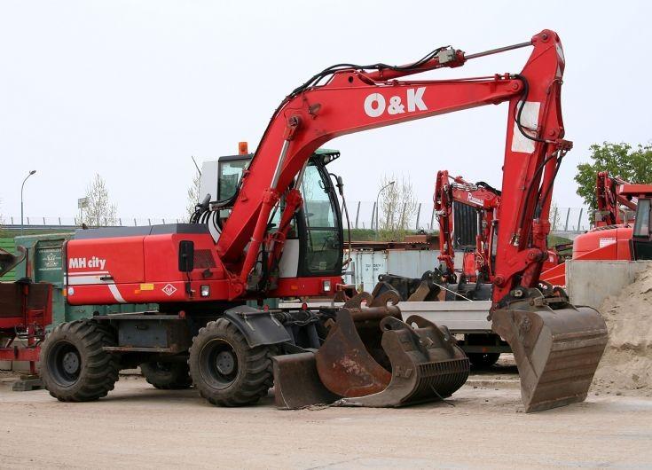 Orenstein&Koppel MH City Wheeled Excavator