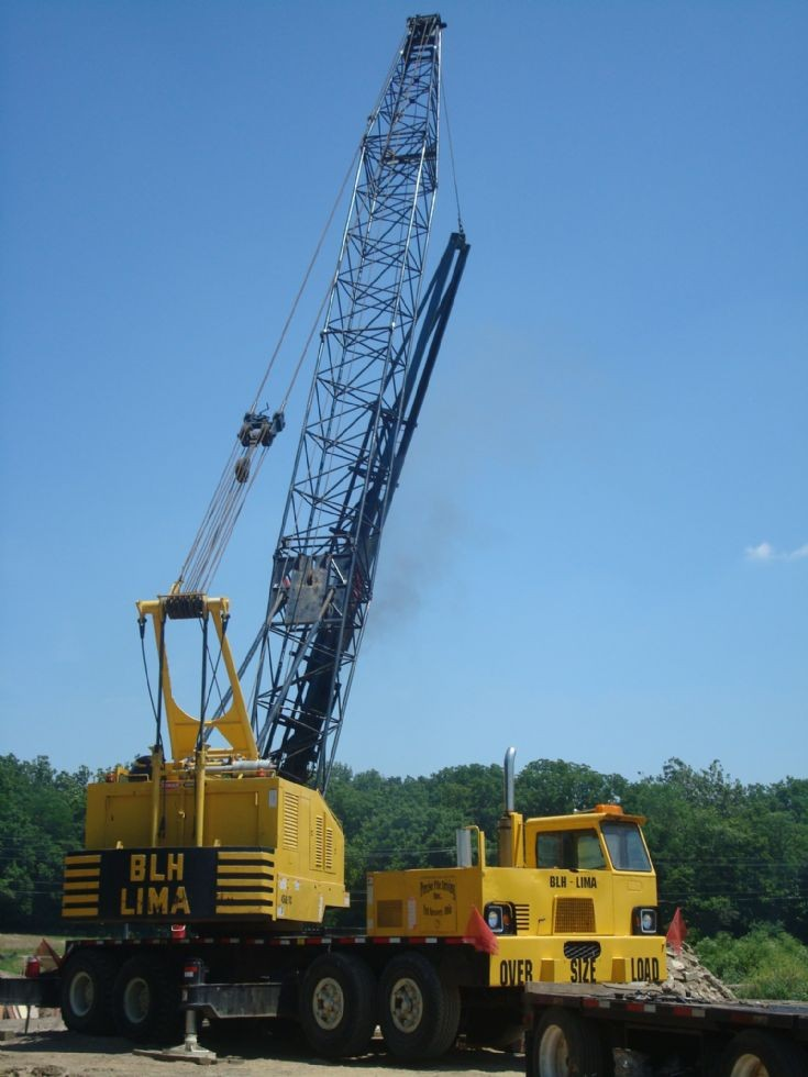 BLH 450 pile driving