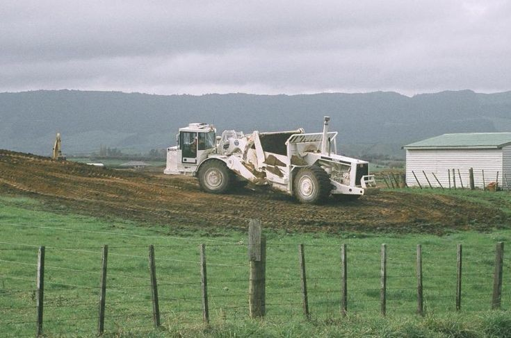 Terex TS14G Motor Scraper in New Zealand
