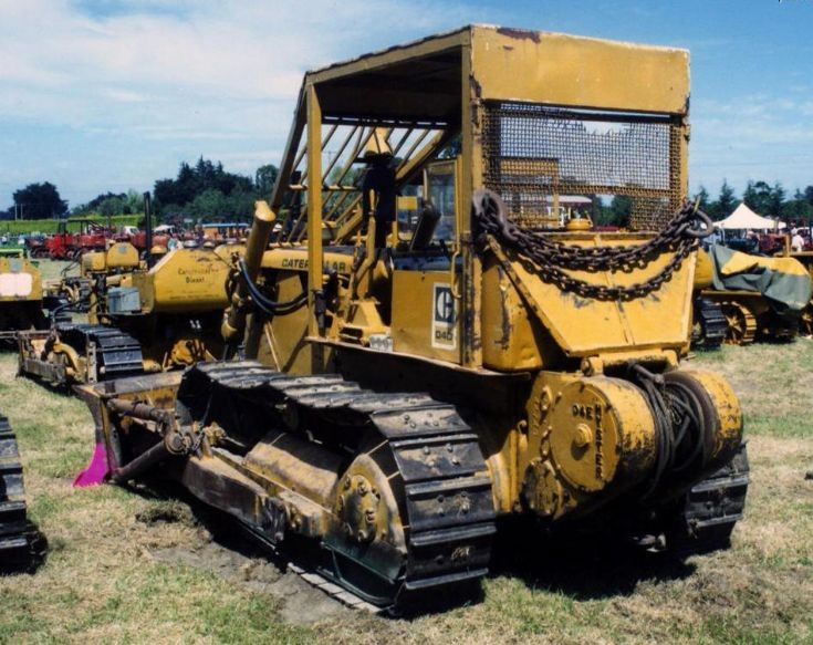 Caterpillar D4D track-type tractor in New Zealand