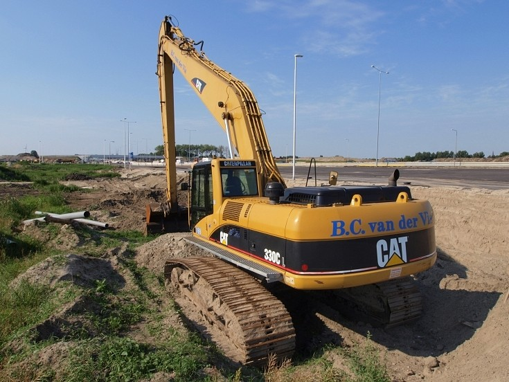 B.C. van der Vis' heavy equipment