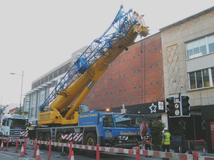 Faun mobile crane Norwich      21/8/2011