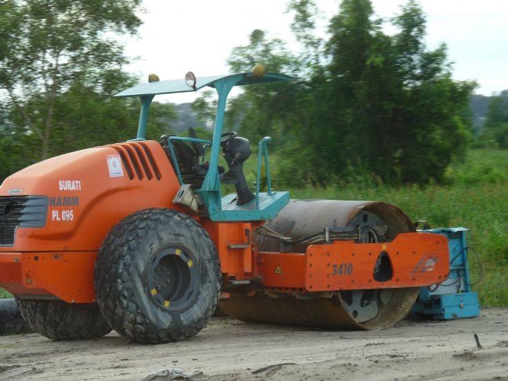 Hamm 3410 roller