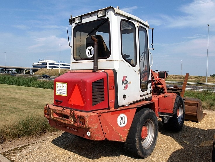 Weidemann used bulldozer