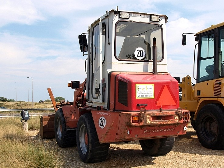 well used Weidemann loader