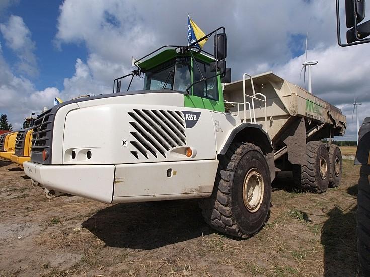 Volvo A35D articulated dump truck