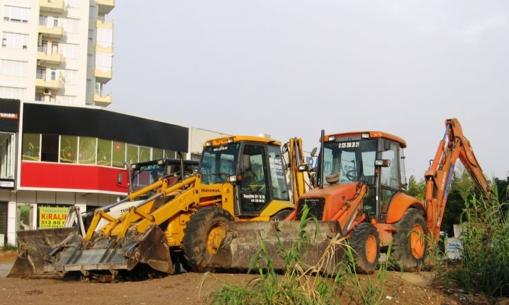 Various Backhoe Loaders