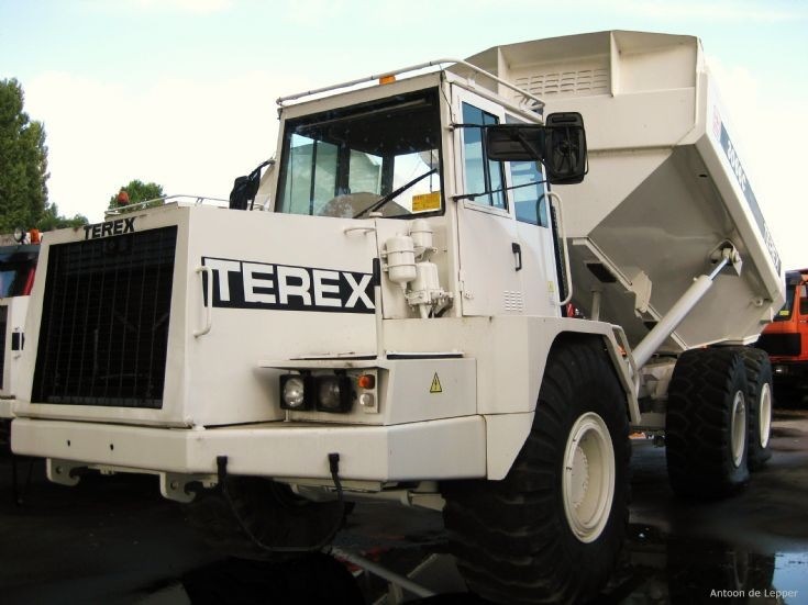 Terex 6x6 articulated dump truck