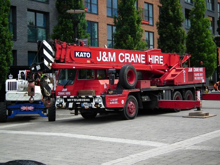 Kato/Mitsubishi Mobile Crane