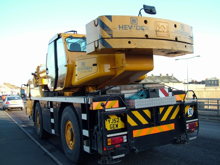 Hewden Terex Crane lorry
