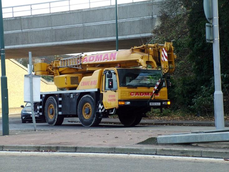 Terex PPM ATT400 crane