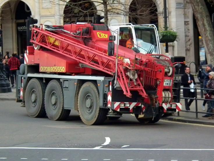 City Lifting Demag crane