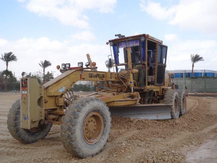 Caterpillar Motor Grader - Egypt