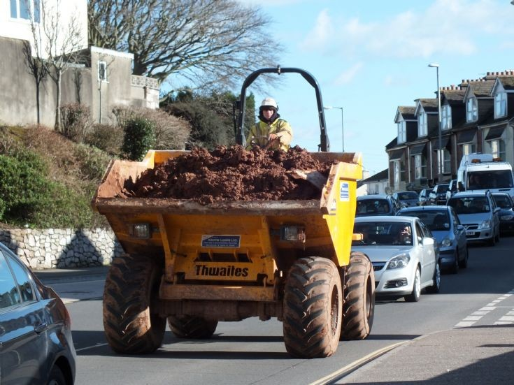 Thwaites Ten tonne tipper in Teignmouth!!