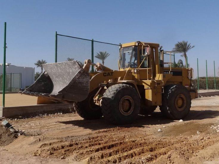 Loading shovel Caterpillar 936E - Egypt