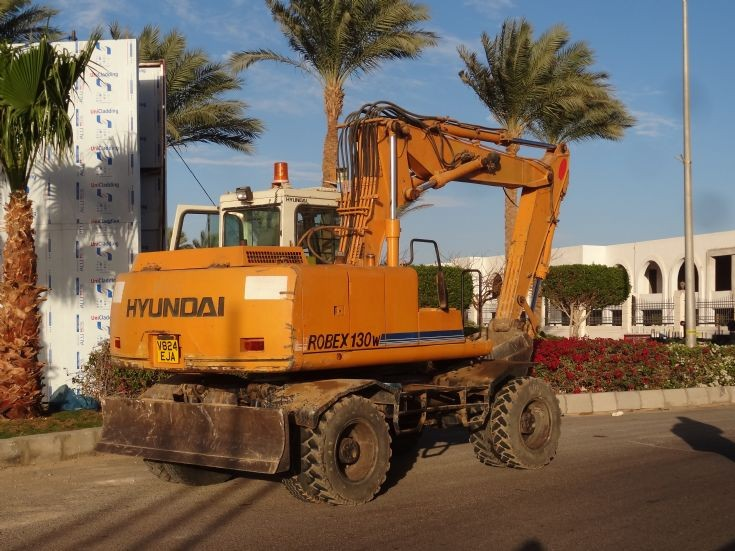 Hyundai excavator - Egypt