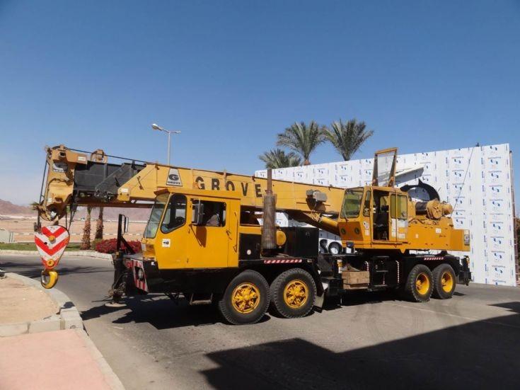 Grove Crane MTS 450 - Egypt