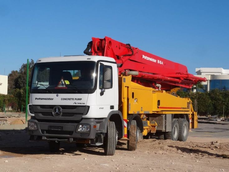 Mercedes Benz  Concrete Pump - Egypt