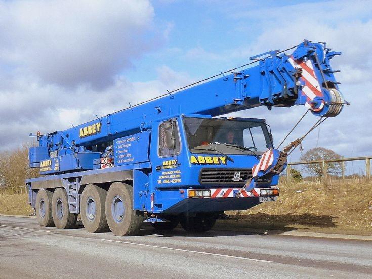Grove 4axle mobile crane