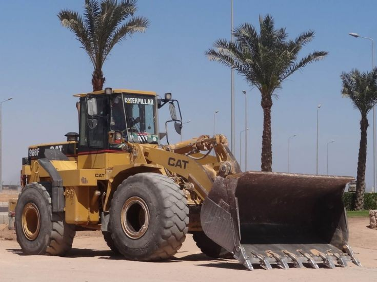 Caterpillar Wheel Loader 966F - Egypt