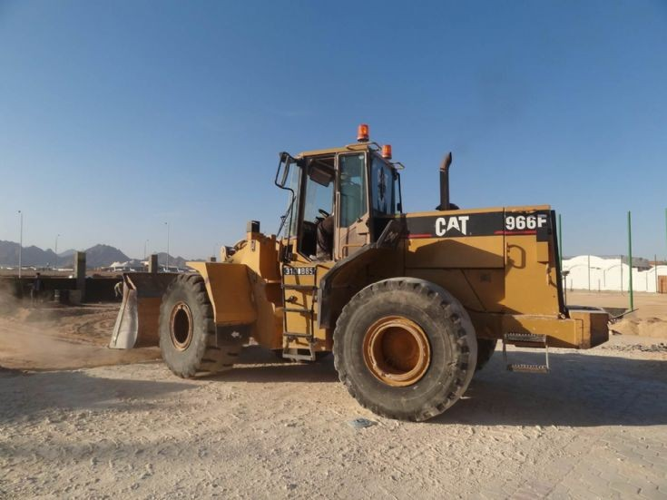 Caterpillar WheelLoader 966F - Egypt