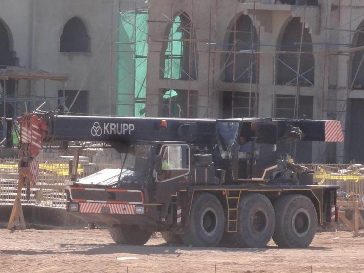 Krupp Crane - Egypt