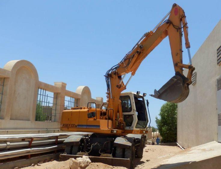 Hyundai Robex 130w excavator - Egypt