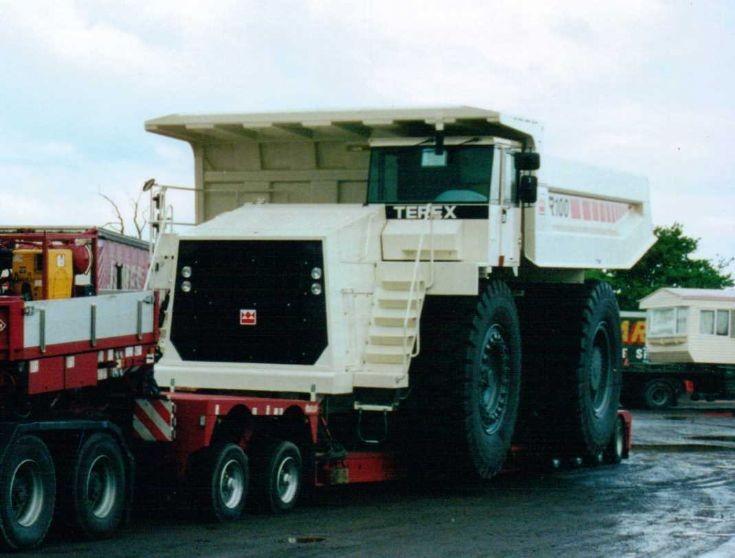 Terex R100 Quarry Truck