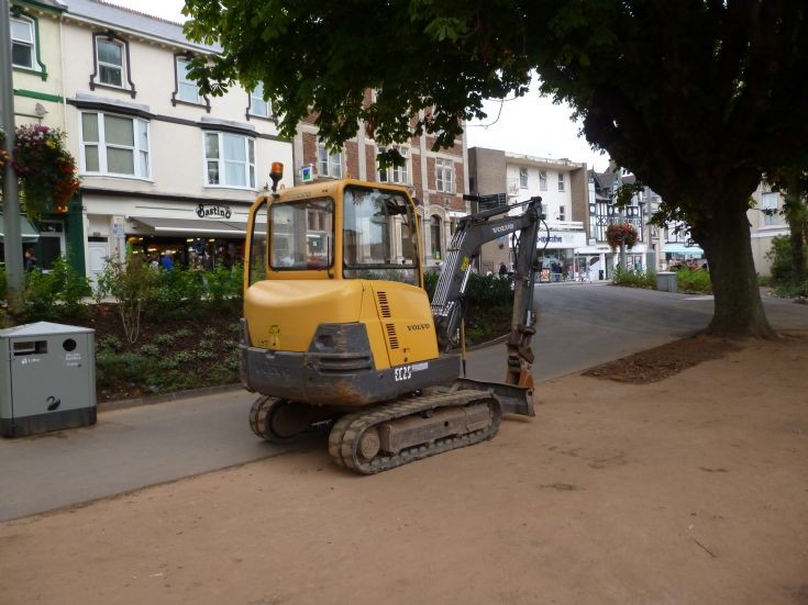 Back to finish our town centre enhancements
