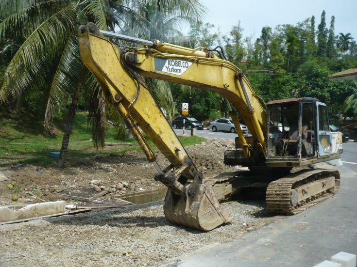 Kobelco Yutani excavator