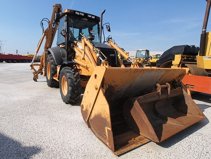 Case 590 Super R Powershift Loader