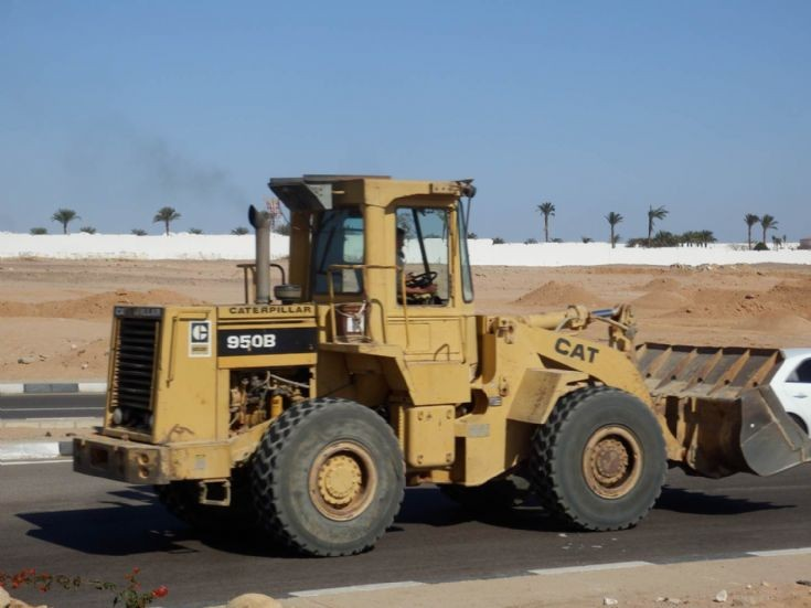 Caterpillar Wheel Loader 950B - Egypt